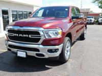 Red 2019 Ram 1500 Big Horn/Lone Star 4WD 8-Speed
