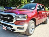 Purchase this BRAND NEW deep red 2019 Ram 1500 Big Horn