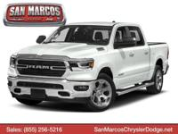 This Ram 1500 delivers a Gas/Electric V-8 5.7 L/345