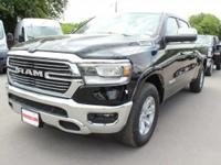 Turn heads in this LUXURIOUS bold black 2019 Ram 1500