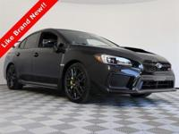 2019 Subaru WRX with only 650 on the odometer, vehicle