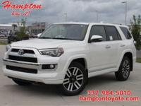 This 2019 Toyota 4Runner Limited is proudly offered by