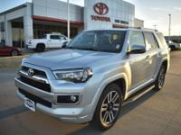 Silver 2019 Toyota 4Runner Limited RWD 5-Speed