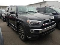 Black 2019 Toyota 4Runner Limited RWD 5-Speed Automatic