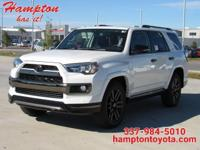 This 2019 Toyota 4Runner Limited Nightshade is proudly