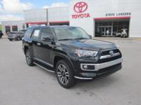 Recent Arrival! 2019 Toyota 4Runner Limited 4.0L V6