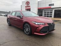 Red 2019 Toyota Avalon XSE FWD 8-Speed Automatic 3.5L