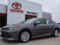 Gray 2019 Toyota Camry LE FWD 8-Speed Automatic 2.5L I4