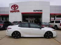 Black 2019 Toyota Camry XSE V6 FWD 8-Speed Automatic