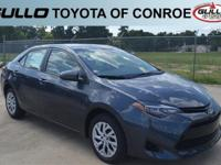 Gray 2019 Toyota Corolla LE 36/28 Highway/City MPG  Let
