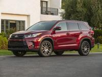 Black 2019 Toyota Highlander LE Plus AWD 8-Speed