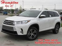 This outstanding example of a 2019 Toyota Highlander LE