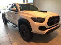 Super White 2019 Toyota Tacoma TRD Pro 4WD 6-Speed