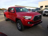 B. Red 2019 Toyota Tacoma SR5 RWD 6-Speed Automatic