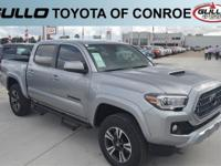 Silver 2019 Toyota Tacoma TRD Sport  Let the team at