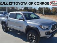 Silver 2019 Toyota Tacoma TRD OffroadLet the team at