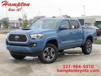 This 2019 Toyota Tacoma 2WD TRD Sport is proudly