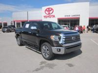 Recent Arrival! 2019 Toyota Tundra 1794 i-Force 5.7L V8