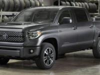 4WD, Leather. Recent Arrival! 2019 Toyota Tundra Black