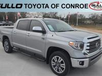 Silver 2019 Toyota Tundra 1794  Let the team at Gullo