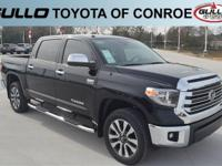 Black 2019 Toyota Tundra Limited  Let the team at Gullo