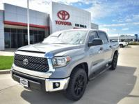 Gray 2019 Toyota Tundra SR5 4.6L V8 RWD 6-Speed