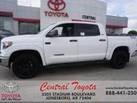 Graphite. Super White 2019 Toyota Tundra SR5 4D CrewMax