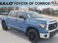 Blue 2019 Toyota Tundra SR5  Let the team at Gullo