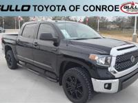 Black 2019 Toyota Tundra SR5  Let the team at Gullo