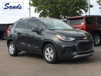 The 2019 Chevrolet Trax is your key to the city. This
