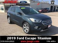 Green 2019 Ford Escape Titanium 4WD 6-Speed Automatic