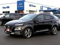 2019 Hyundai Kona Limited 29/26 Highway/City MPG Price