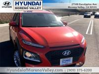 Sunset Orange 2019 Hyundai Kona SEL FWD Automatic 2.0L