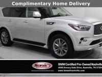 This 2019 INFINITI QX80 LUXE (***ONE OWNER, CLEAN
