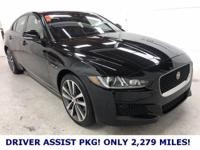 2019 Jaguar XE 25t Landmark AWD with ONLY 2,279 miles.