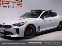 Silver 2019 Kia Stinger GT2 AWD 8-Speed Automatic 3.3L