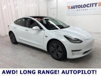 2019 Tesla Model 3 Long Range AWD with ONLY 4,609