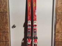 201cm Volkl Super P30 Skis w/ Bindings Call 4438833670