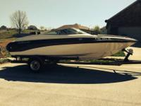 Crownline 202 Bow Rider with custom trailerSki Boat /