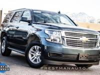 Shadow Gray Metallic 2020 Chevrolet Tahoe LT branded