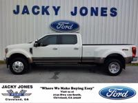 This 2020 Ford Super Duty F-450 DRW King Ranch, has a