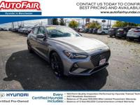 2020 Genesis G70 2.0T AWD SPORT PACKAGE HAS JUST