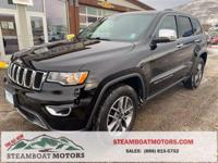 2020 Jeep Grand Cherokee Limited Diamond Black Crystal