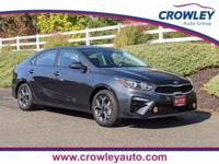 (KIA CERTIFIED) 2020 Kia Forte LXS in Gravity Gray.