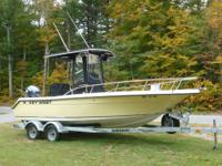 This 2006 Key West 2020CC w/150 Yamaha 4 stroke