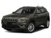 2021 Jeep Cherokee Latitude Diamond Black Crystal