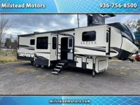 Just arrived 2021 Keystone Alpine 5th wheel. Used only