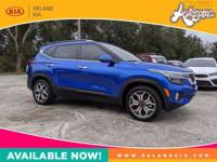 This outstanding example of a 2021 Kia Seltos SX is
