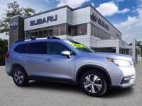 Used. 2021 Subaru Ascent CARFAX One-Owner. Ice Silver