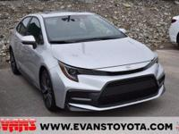 CARFAX One-Owner. 2021 Toyota Corolla SE Classic Silver
